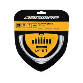 Jagwire 1X Pro Shift Schakelkabel Set, white